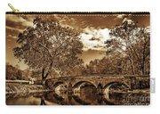 Burnside Bridge At Antietam - Toned Carry-all Pouch
