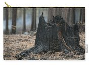 Burnt Tree Trunk Carry-all Pouch