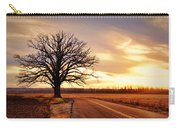 Burr Oak Silhouette Carry-all Pouch