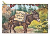 Burro Quality Of Cigars Label Carry-all Pouch