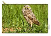 Burrowing Owl At It's Burrow Carry-all Pouch