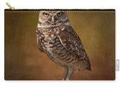 Burrowing Owl Portrait Carry-all Pouch by Kim Hojnacki