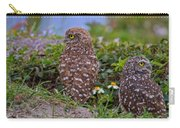 Burrowing Owl Siblings Carry-all Pouch