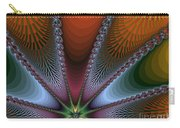 Bursting Star Nova Fractal Carry-all Pouch