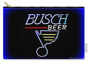 Busch And The Blues Edited Carry-all Pouch