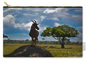 Bushbuck Guard Of The Mound   Carry-all Pouch