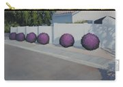 Bushes On Amber Ridge Way - Art By Bill Tomsa Carry-all Pouch