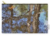 Reflection In Bushkill Falls  Carry-all Pouch