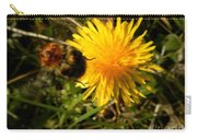 Bussy Bee And Dandelion Carry-all Pouch