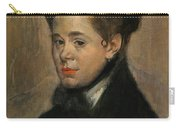 Bust Of A Woman Carry-all Pouch