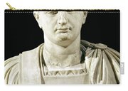 Bust Of Emperor Domitian Carry-all Pouch