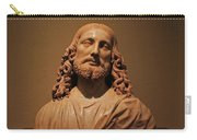 Bust Of Jesus Christ At Mfa Carry-all Pouch