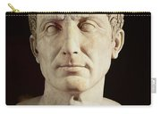 Bust Of Julius Caesar Carry-all Pouch