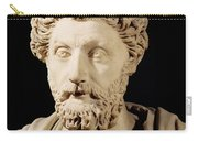 Bust Of Marcus Aurelius Carry-all Pouch