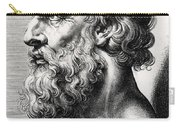 Bust Of Plato  Carry-all Pouch
