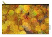 Busy Bee In The Marigolds Carry-all Pouch