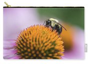 Busy Bee On Cone Flower Carry-all Pouch