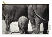 Butt Butt Butt Carry-all Pouch by Joan Carroll