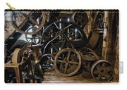 Butte Creek Mill Interior Scene Carry-all Pouch by Mick Anderson