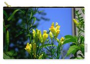 Butter And Egg Wildflower Carry-all Pouch