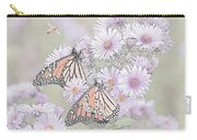 Butterflies And Bee Carry-all Pouch