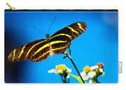 Butterflies And Blue Skies Carry-all Pouch