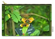Butterflies Gentle Courtship  3 Panel Composite Carry-all Pouch