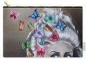 Butterflies In The Thoughts Carry-all Pouch