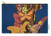 Butterflies On A 2015 Rose Parade Float 15rp047 Carry-all Pouch