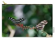 Butterflies On A Wire C Carry-all Pouch