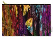 Butterflies On The Curtain Carry-all Pouch