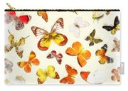 Butterflies Square Carry-all Pouch