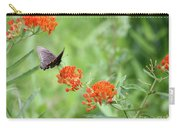 Butterfly A L'orange Carry-all Pouch