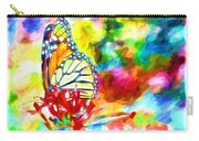 Butterfly Abstracted Carry-all Pouch