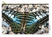 Butterfly Amongst Stones Carry-all Pouch