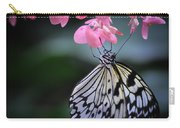 Butterfly And Blossoms Carry-all Pouch