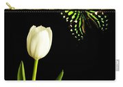 Butterfly And Tulip Carry-all Pouch