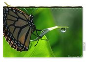 Butterfly And Water Carry-all Pouch