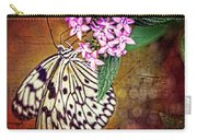 Butterfly Art - Hanging On - By Sharon Cummings Carry-all Pouch