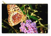 Butterfly Banquet 2 Carry-all Pouch by Will Borden