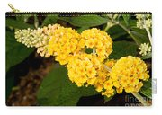 Butterfly Bush Flower Carry-all Pouch