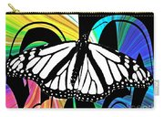 Butterfly Abstract Wall Art Decor Carry-all Pouch