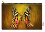Butterfly - Butterfly Of Happiness  Carry-all Pouch by Mike Savad