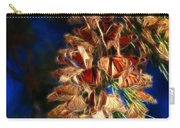 Butterfly Cluster Fractal Carry-all Pouch