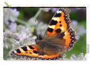 10088 Small Tortoiseshell Butterfly Carry-all Pouch