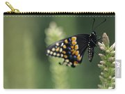Butterfly E. Black Swallowtail Carry-all Pouch