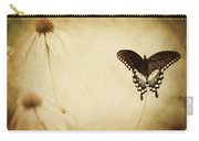 Butterfly Flower Carry-all Pouch