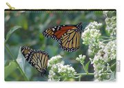 Butterfly Garden - Monarchs 01 Carry-all Pouch