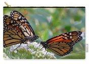 Butterfly Garden - Monarchs 17 Carry-all Pouch