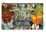 Butterfly In Cappella Sistina Sistinechapel Carry-all Pouch